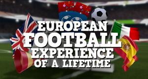 Win Euro 2016 football experience