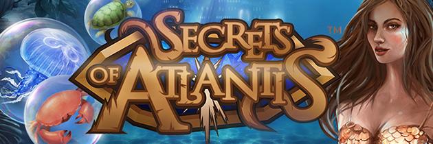 free spins on Secrets of Atlantis
