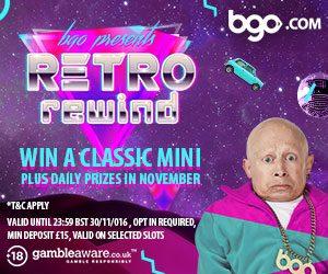 bgo presents retro rewind theme