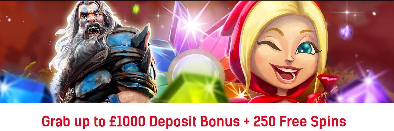 Redbet Casino welcome bonus