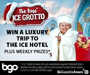 The Boss' Ice Grotto bgo casino