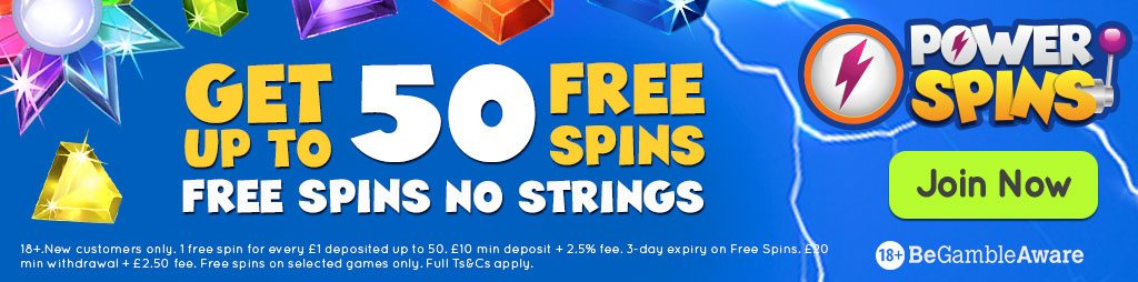 Power Spins no wager casino