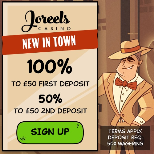 Joreels New Casino UK