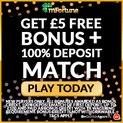 £5 free no deposit mfortune casino