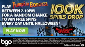 100K Spins Drop at BGO Casino
