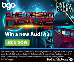 Win Audi A3 BGO promo