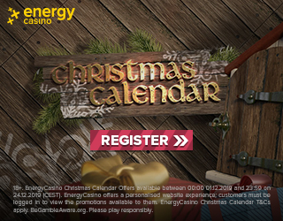 Energy casino Christmas calendar