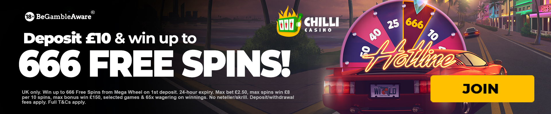 Chilli casino bonus