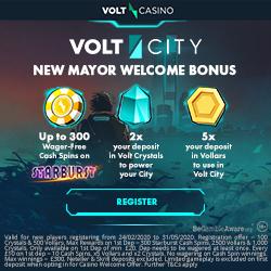 Volt casino 300 wager-free sins