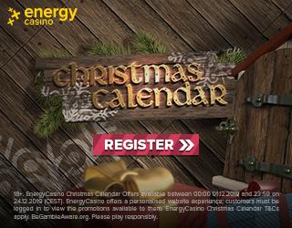 Energy casino Christmas calendar